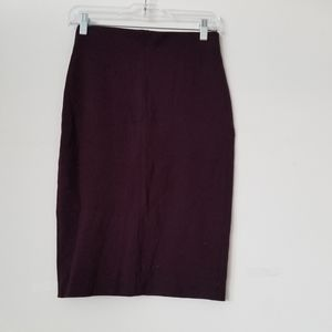 Aritzia Wilfred Pencil Purple Skirt, Small
